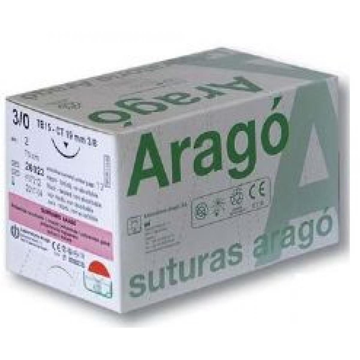 SUTURA ARAGO SUPRAMID 4 0 TB15 36U -