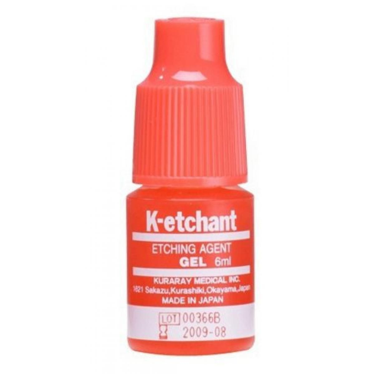 GRABADO K ETCHANT ACIDO ORTODFOSFORICO 40 GEL 6ML KURARAY -