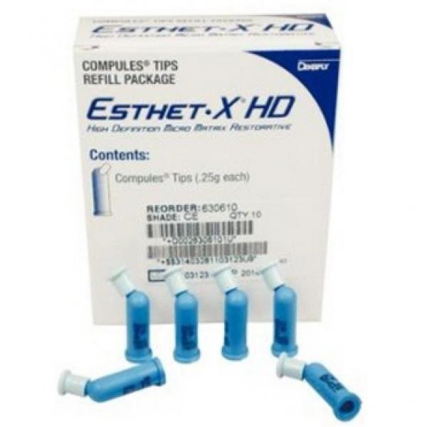 ESTHET XD AMBER E COMPULES 10U DENTSPLY -