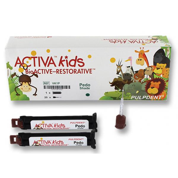 ACTIVA KIDS 2 X 5ML PULPDENT -