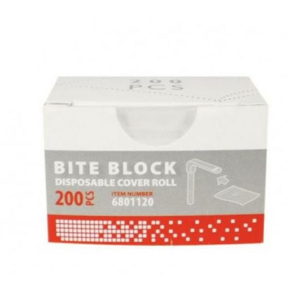BITE BLOCK DISPOSABLE COVER ROLL SOREDEX -