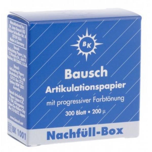 PAPEL ARTICULAR BK1001 AZUL 300H REPOS BAUSCH -