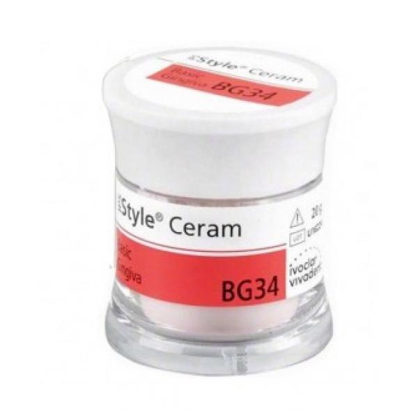 IPS STYLE CERAM BASIC GINGIVA BG34 20GR IVOCLAR -