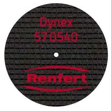 DISCO DYNEX 40X0 5MM CX20 570540 no pre co RENFERT -