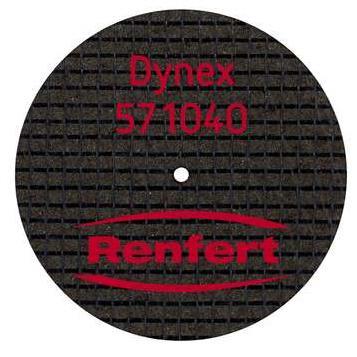 DISCO DYNEX 40X1 0MM CX20 571040 no pre col RENFERT -
