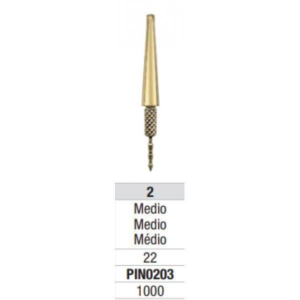 PINS DOWEL PIN LATON CON AGUJA P203 MEDIANO CX1 UNID EDENTA -