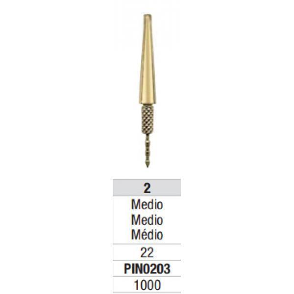 PINS DOWEL PIN LATON CON AGUJA P203 MEDIANO CX1000 UNID EDENTA -