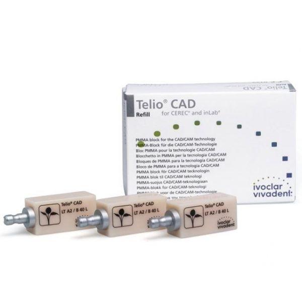 TELIO CAD CEREC INLAB LT A2 B40L 3 IVOCLAR -