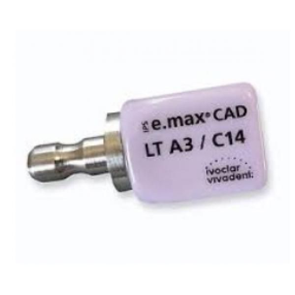 E MAX CAD CEREC C14 LT A1 CX5 605328 IVOCLAR -