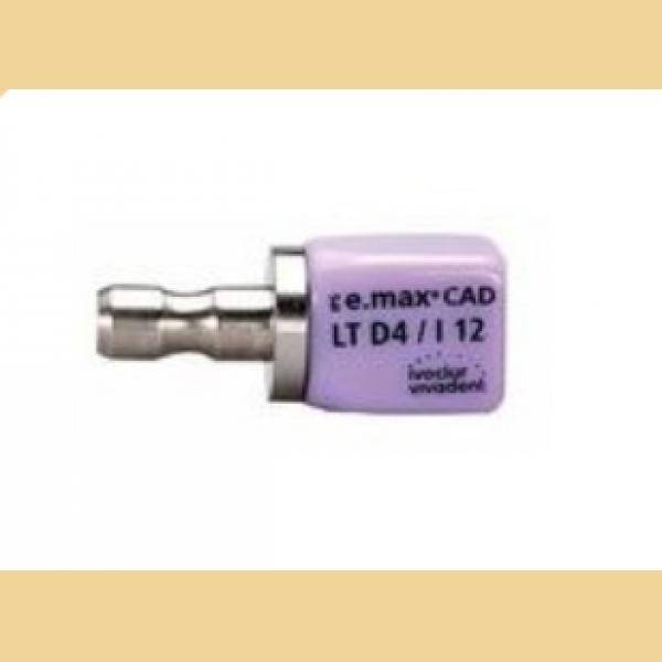 E MAX CAD CEREC I12 LT BL4 CX5 605341 IVOCLAR -