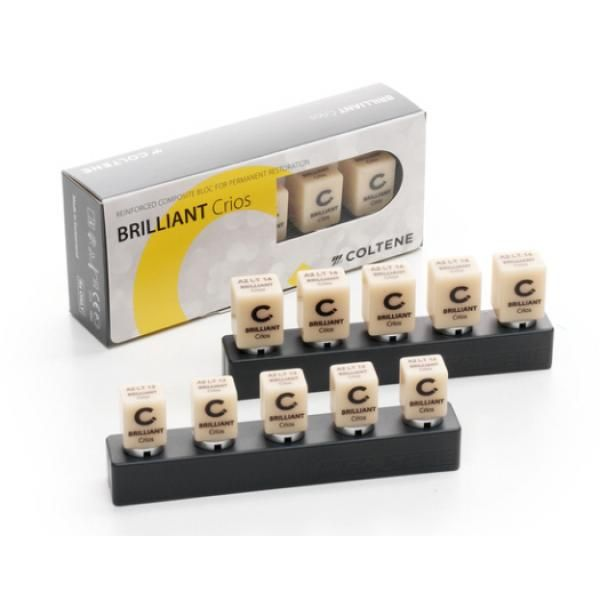 BRILLIANT CRIOS 12 LT A2 CEREC CX5 COLTENE -