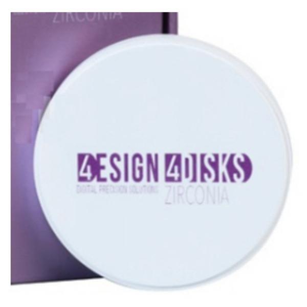 DISCO 4DESIGN 4DISK HT WHITE 14MM -