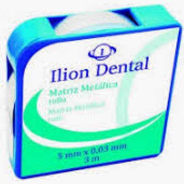 MATRICES ILION METALICAS ROLLO 0 03 MM X 5 MM X3 M -
