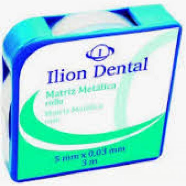 MATRICES ILION METALICAS ROLLO 0 03 MM X 6 MM X3 M -