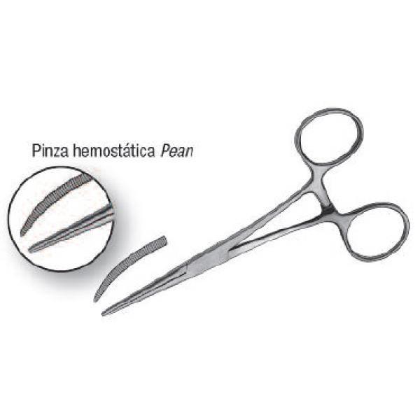 PINZA ILION PEAN HEMOSTATICA CURVA -